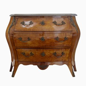 Mid-Century French Marble Top Commode