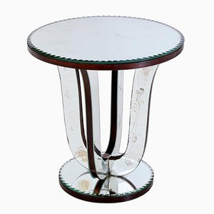 Antique Mirrored Occasional Table