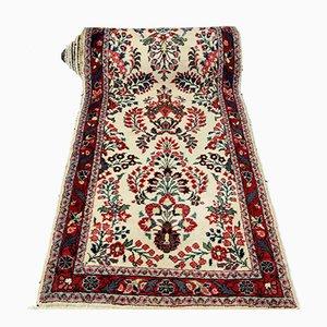Tappeto da corridoio vintage in lana intrecciata, Medio Oriente