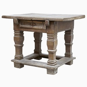 17th Century Flemish Oak Worktable