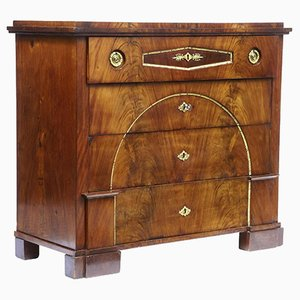 19th-Century Swedish Mahogany Secretaire