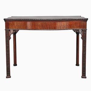 Tavolo antico in stile Chippendale in mogano