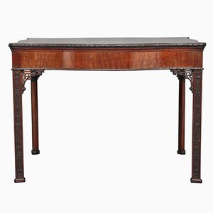 Table Style Chippendale Antique en Acajou