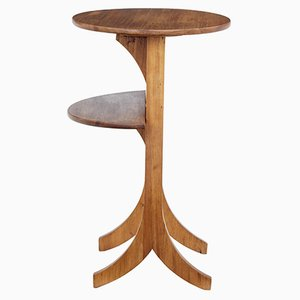 Art Deco Mahogany Folding Table