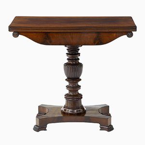 Victorian Mahogany Tea Table