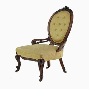 Victorian Mahogany Salon Nursing Chair