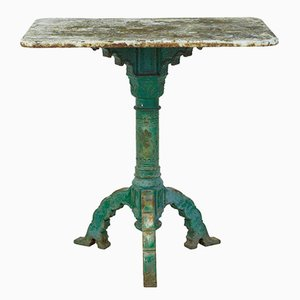 19th-Century Victorian Iron Table