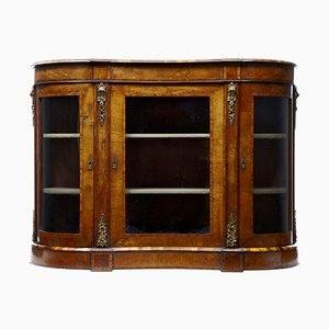 19th Century Victorian Walnut Cabinet