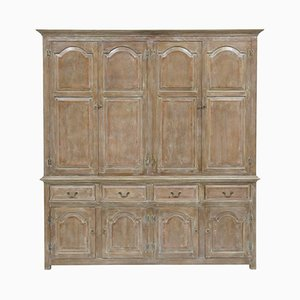 Large English Oak Cupboard