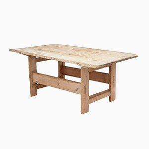 Antique 19th Century Swedish Pine Table