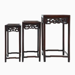 Late 19th-Century Chinese Nesting Tables