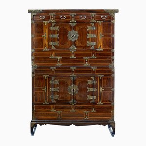 Antique Chinese Inlaid Cabinet