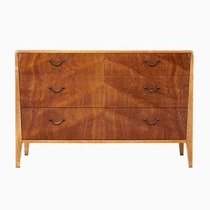 Mid-Century Scandinavian Mahogany Chest of Drawers