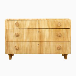 Mid-Century Elm Chest of Drawers