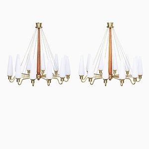 Lampadari Mid-Century da chiesa, Svezia, set di 2