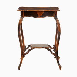 19th-Century Cordia Wood Occasional Table