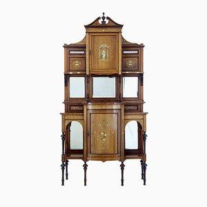 Antique Edwardian Inlaid Rosewood Dresser