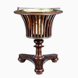 Cubitera holandesa de marquetería del siglo XIX