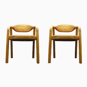 Dänische Stühle aus Teak von Korup Stolefabrik, 1970er, 2er Set