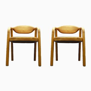 Danish Teak Armchairs from Korup Stolefabrik, 1970s, Set of 2