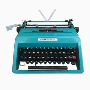 Studio 45 Typewriter by Ettore Sottsass for Olivetti Synthesis, 1960s