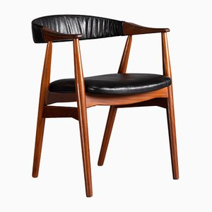 Mid-Century Danish Chair No 213 by Th. Harlev for Farstrup Møbelfabrik, 1960s