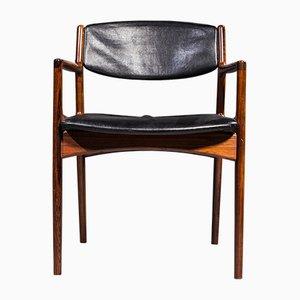 Armlehnstuhl aus Palisander von Arne Vodder für Sibast, 1960er