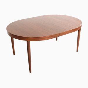Ausziehbarer dänischer Tisch aus Teak von Kai Kristiansen, 1960er