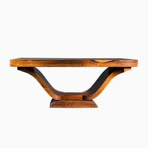 Art Deco Rosewood Dining Table, 1930s
