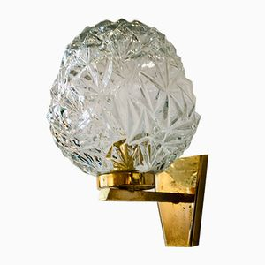 Brass Wall Lamp from Disderot, 1960s