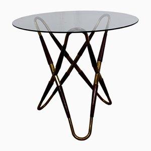 Tavolino da caffè tripode, anni '50