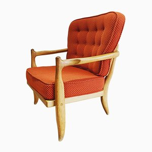 Jose Armchair by Guillerme et Chambron for Votre Maison, 1970s