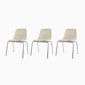 Chaises d'Appoint par Ico & Luisa Parisi pour MIM, 1970s, Set de 3