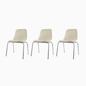 Side Chairs by Ico & Luisa Parisi for MIM, 1970s, Set of 3