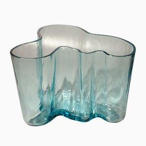 Vaso nr. 9750 Savoy vintage di Alvar Aalto per Karhula Glassworks