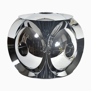 Vintage Chrome-Plated Table Lamp, 1960s