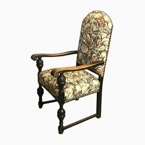 Vintage British Oak Armchair