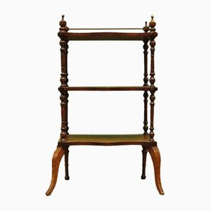 Small Antique Victorian Shelving Unit