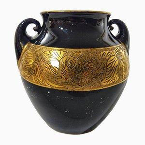 Jugendstil Vase von Porzellanfabrik Fraureuth, 1920er
