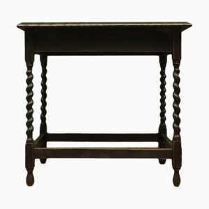 Antique Black Painted Hall Table