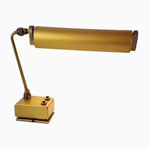 Lámpara de mesa industrial vintage de Mazda