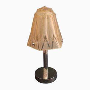 Lámpara de mesa francesa vintage, años 30
