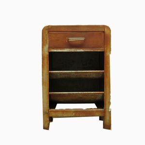 Mid-Century Industrial Metal Cabinet, 1950s