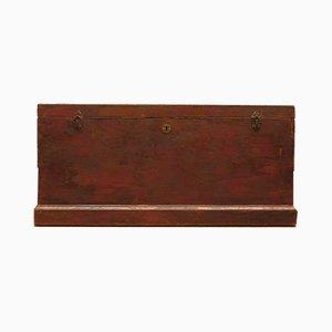 Cassettiera antica in legno di pino
