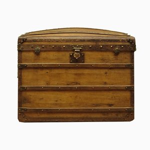Large Antique Dome Top Trunk