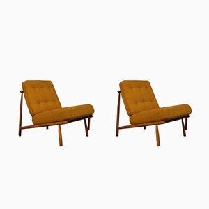 Mid-Century Modell Domus Sessel von Alf Svensson für Dux, 1950er, 2er Set
