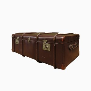 Mid-Century Steamer Trunk from Globetrotter
