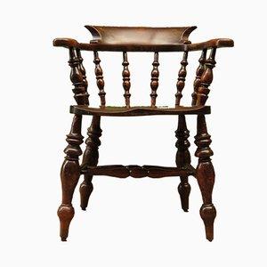Antique Captain's Bow Chair