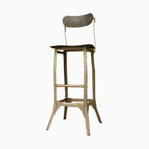 Vintage Industrial Factory Chair from TanSad