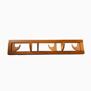 Mid-Century Wall Mounted Coat Rack, 1970s